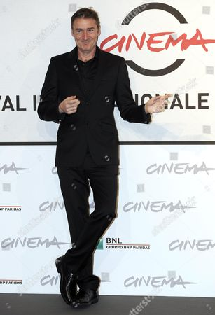 Stock Picture of Australian Director P J Hogan Poses During the Photocall For the Movie 'Mental' at the Seventh Annual Rome Film Festival in Rome Italy 10 November 2012 the Movie is Presented out Competition at the Festival That Runs From 09 to 17 November Italy Rome