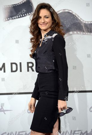 Italian Actress Anita Kravos Poses During the Photocall For the Movie 'E La Chiamano Estate' Directed by Paolo Franchi at the 7th Rome Film Festival in Rome Italy 14 November 2012 the Movie is Presented in Competition at the Festival That Runs From 09 to 17 November Italy Rome