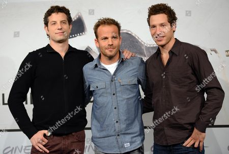 Us Actor Stephen Dorff (c) with Directors Alan Polsky (l) and Gabe Polsky (r) During the Photocall For 'The Motel Life' at the Seventh Annual Rome Film Festival in Rome Italy 16 November 2012 the Movie is Presented in Competition at the Festival That Runs From 09 to 17 November Italy Rome