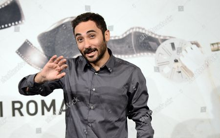 Italian Director Piero Messina Poses During the Photocall For the Movie 'La Prima Legge Di Newton' at the 7th Annual Rome Film Festival in Rome Italy 14 November 2012 the Movie is Presented out Competition at the Festival That Runs From 09 to 17 November Italy Rome