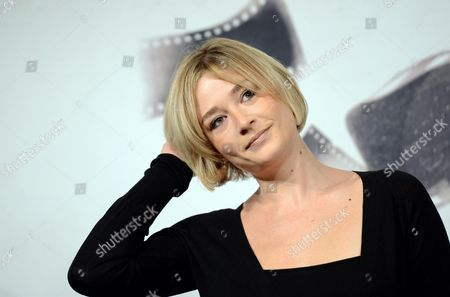 Italian Actress Giorgia Salari Poses During the Photocall For the Movie 'Cosimo E Nicole' at the Seventh Annual Rome Film Festival in Rome Italy 16 November 2012 the Movie is Presented out Competition at the Festival That Runs From 09 to 17 November Italy Rome