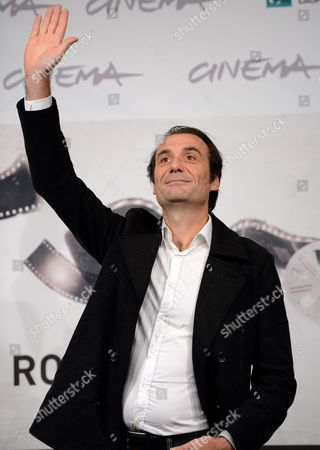 French Actor Stephane Roche Poses During the Photocall For the Movie 'La Bande Des Jotas' at the Seventh Annual Rome Film Festival in Rome Italy 16 November 2012 the Movie is Presented out Competition at the Festival That Runs From 09 to 17 November Italy Rome