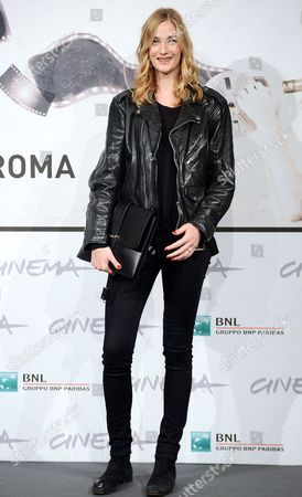Italian Actress Eva Riccobono Poses During the Photocall For the Movie 'E La Chiamano Estate' Directed by Paolo Franchi at the 7th Rome Film Festival in Rome Italy 14 November 2012 the Movie is Presented in Competition at the Festival That Runs From 09 to 17 November Italy Rome