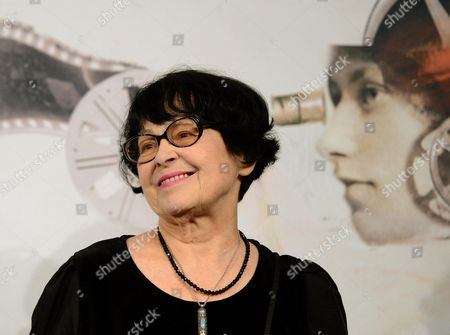 Russian Director Kira Muratova Poses During the Photocall For the Movie 'Eterno Ritorno: Provini' (eternal Return: Screen Tests) at the Seventh Annual Rome Film Festival in Rome Italy 16 November 2012 the Movie is Presented in Competition at the Festival That Runs From 09 to 17 November Italy Rome