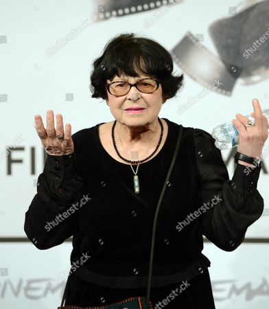 Stock Image of Russian Director Kira Muratova Poses During the Photocall For the Movie 'Eterno Ritorno: Provini' (eternal Return: Screen Tests) at the Seventh Annual Rome Film Festival in Rome Italy 16 November 2012 the Movie is Presented in Competition at the Festival That Runs From 09 to 17 November Italy Rome