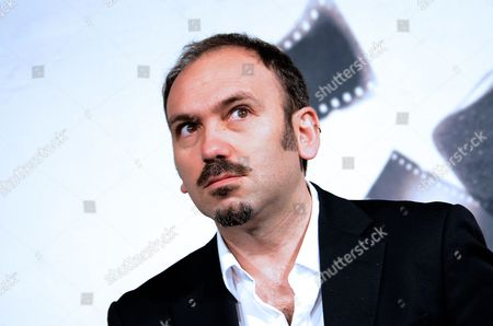 Stock Image of Prospettive Italia Jury Member Stefano Savona Poses During the International and Prospettive Italia Jury Photocall During the Seventh Annual Rome Film Festival in Rome Italy 09 November 2012 the Movie is Presented out Competition at the Festival That Runs From 09 to 17 November Italy Rome