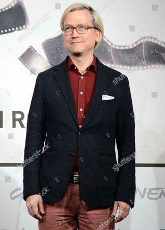 Stock Picture of In Competition Jury Member Chris Fujiwara Poses During the Photocall of the Jury at the Seventh Annual Rome Film Festival in Rome Italy 09 November 2012 the Festival Runs From 09 to 17 November Italy Rome
