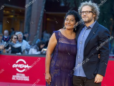 Mexican Director Enrique Rivero and Actress Margarita Saldana Arrive at the Premiere of Their Movie 'Mai Morire' (never Die) at the 7th International Rome Film Festival in Rome Italy 13 November 2012 the Movie is Presented in Competition at the Festival That Runs From 09 to 17 November Italy Rome