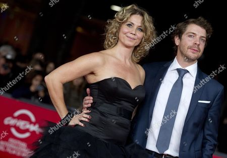 Actors Anne Louise Hassing and Ramsey Nasr on the Red Carpet For the Movie 'Goltzius and the Pelican Company' at the 7th International Rome Film Festival in Rome 12 November 2012 the Movie is Presented out Competition at the Festival That Runs From 09 to 17 November Italy Rome
