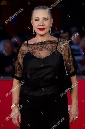 Italian Actress Iaia Forte on the Red Carpet For the Movie 'Il Volto Di Un'altra' (the Face of Another) at the Seventh Annual Rome Film Festival in Rome Italy 12 November 2012 the Movie is Presented in Competition at the Festival That Runs From 09 to 17 November Italy Rome