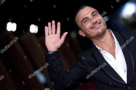 Italian Actor Francesco Di Leva on the Red Carpet For the Movie 'Waves' at the 7th International Rome Film Festival in Rome Italy 13 November 2012 the Movie is Presented in the Prospettive Italia Section of the Festival Running From 09 to 17 November Italy Rome