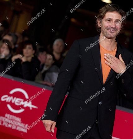 Italian Director Corrado Sassi on the Red Carpet For the Movie 'Waves' at the 7th International Rome Film Festival in Rome Italy 13 November 2012 the Movie is Presented in the Prospettive Italia Section of the Festival Running From 09 to 17 November Italy Rome