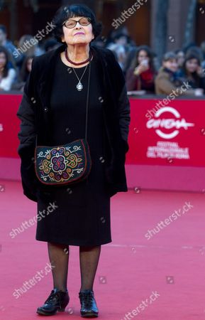 Russian Director Kira Muratova Arrives For the Premiere of 'Eternal Homecoming: Auditions (vechnoe Vozvraschenie)' at the Seventh International Rome Film Festival in Rome Italy 16 November 2012 the Movie is Presented in Competition at the Festival That Runs From 09 to 17 November Italy Rome