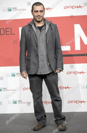 Italian Director Guido Lombardi Poses During the Photocall For 'Take Five' at the 8th Annual Rome Film Festival in Rome Italy 14 November 2013 the Movie is Presented in the Official Competition at the Festival That Runs From 08 to 17 November Italy Rome