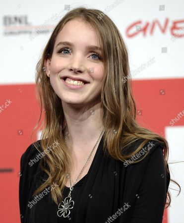 Danish Actress Maja Dybboe Poses During the Photocall For 'Sorg Og Glaede (sorrow and Joy)' at the 8th Annual Rome Film Festival in Rome Italy 11 November 2013 the Movie is Presented in the Offcial Competition at the Festival That Runs From 08 to 17 November Italy Rome