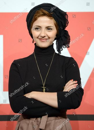 Stock Picture of Iranian Actress/cast Member Mahsa Alafar Poses During the Photocall For the Movie 'Gass (acrid)' at the 8th Annual Rome Film Festival in Rome Italy 11 November 2013 the Movie is Presented in the Official Competition at the Festival That Runs From 08 to 17 November Italy Rome