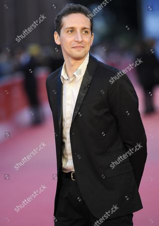 Stock Image of Italian Director Fabio Mollo Arrives For the Premiere of 'Il Sud E Niente' at the 8th Annual Rome Film Festival in Rome Italy 13 November 2013 the Movie is Presented out of Competition at the Festival That Runs From 08 to 17 November Italy Rome
