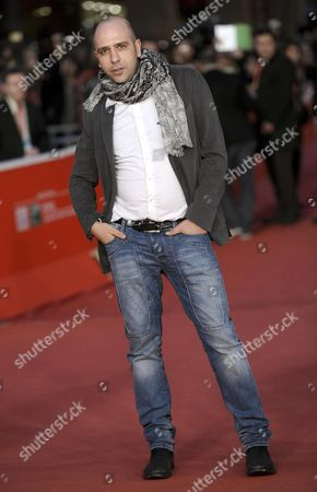 Italian Actor Checco Zalone Poses on the Red Carpet Before the Meeting with the Press and the Public During the 8th Annual Rome Film Festival in Rome Italy 14 November 2013 the Festival Runs From 08 to 17 November Italy Rome
