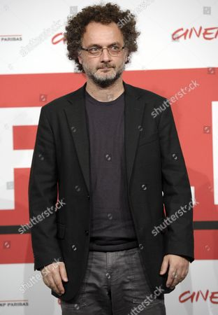 Italian Director Antonio Morabito Poses During the Photocall For 'The Medicine Seller (il Venditore Di Medicine)' at the 8th Annual Rome Film Festival in Rome Italy 11 November 2013 the Movie is Presented in out Competition at the Festival That Runs From 08 to 17 November Italy Rome