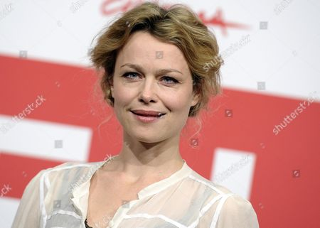 Stock Photo of Danish Actress Helle Fagralid Poses During the Photocall For 'Sorg Og Glaede (sorrow and Joy)' at the 8th Annual Rome Film Festival in Rome Italy 11 November 2013 the Movie is Presented in the Offcial Competition at the Festival That Runs From 08 to 17 November Italy Rome