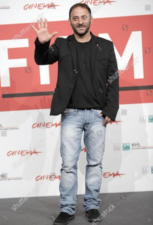 Italian Actor Salvatore Striano Poses During the Photocall For 'Take Five' at the 8th Annual Rome Film Festival in Rome Italy 14 November 2013 the Movie is Presented in the Official Competition at the Festival That Runs From 08 to 17 November Italy Rome