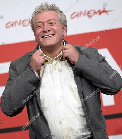 Stock Photo of Italian Actor Gaetano Di Vaio Poses During the Photocall For 'Take Five' at the 8th Annual Rome Film Festival in Rome Italy 14 November 2013 the Movie is Presented in the Official Competition at the Festival That Runs From 08 to 17 November Italy Rome