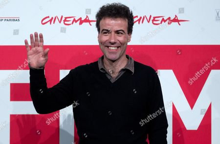 Italian Director Alessio Cremonini Poses During the Photocall For 'Border' at the 8th Annual Rome Film Festival in Rome Italy 12 November 2013 the Movie is Presented out of Competition at the Festival That Runs From 08 to 17 November Italy Rome