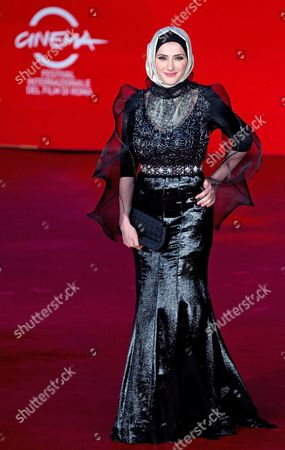 Actress/cast Member Sara El Debuch Poses on the Red Carpet at Rome's Park of the Music Auditorium As She Arrives For the Screening of the Movie 'Border' at the 8th Annual Rome Film Festival in Rome Italy 12 November 2013 the Movie is Presented out of Competition at the Festival That Runs From 08 to 17 November Italy Rome