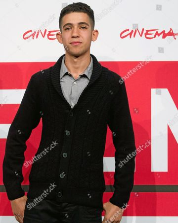 Stock Photo of Algerian Actor/cast Member Jaouher Brahim Poses During the Photocall For the Movie 'I Corpi Estranei' (foreign Bodies) at the 8th International Rome Film Festival in Rome Italy 12 November 2013 the Movie is Presented in the Official Competition at the Festival That Runs From 08 to 17 November Italy Rome