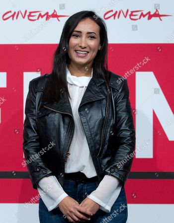 Actress Dana Keilani Poses During the Photocall For 'Border' at the 8th Annual Rome Film Festival in Rome Italy 12 November 2013 the Movie is Presented out of Competition at the Festival That Runs From 08 to 17 November Italy Rome