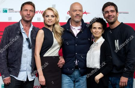 (l-r) German Actor Thomas Kretschmann Russian Actress Yanina Studilina Russian Director Fedor Bondarchuk Actress Mariya Smolnikova and Actor Pyotr Fyodorov Pose During the Photocall For 'Stalingrad 3d' at the 8th Annual Rome Film Festival in Rome Italy 10 November 2013 the Movie is Presented out of Competition at the Festival That Runs From 08 to 17 November Italy Rome