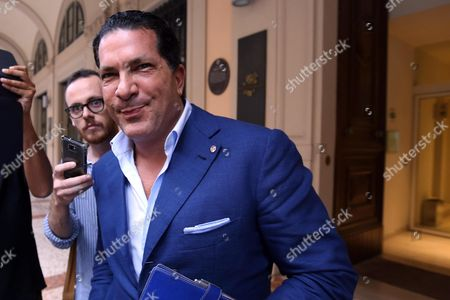 Us Lawyer Joe Tacopina As He Arrives in Bologna Italy 09 September 2014 Tacopina who on 08 September 2014 Announced His Resignation From the Board of Directors of As Roma where He was Vice President Arrived in Bologna the City of the Soccer Team That is Willing to Buy Italy Bologna