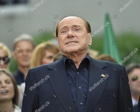 Editorial image of Italy Soccer Berlusconi Ac Milan Deal - Jun 2015