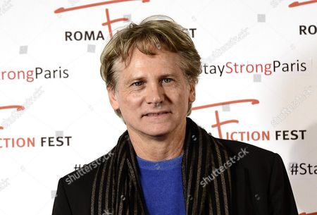 Italian Actor/cast Member Giulio Scarpati Poses During a Photocall For the Television Series 'Un Medico in Famiglia' (lit : a Doctor in the Family) at the Roma Fiction Fest in Rome Italy 15 November 2015 the Festival Runs From 11 to 15 November Italy Rome