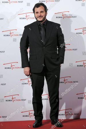 Italian Director Antonio Gerardi Arrives on the Red Carpet For the Television Series 'Il Sistema' at the Roma Fiction Fest in Rome Italy 13 November 2015 the Festival Runs From 11 to 15 November Italy Rome