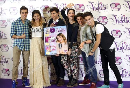 Editorial picture of Italy Television Violetta - Jan 2014