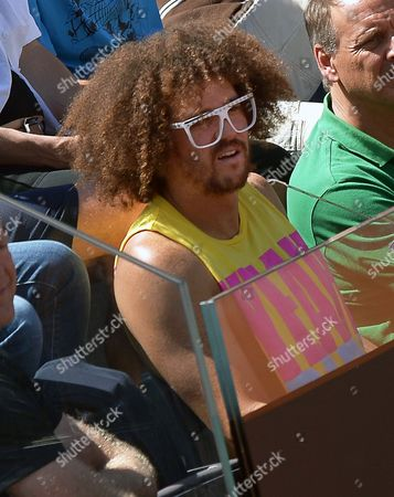 Us Singer and Dance Artist Stefan Kendal Gordy Aka Redfoo Watches the Final Match Between Serena Williams From the Usa and Victoria Azarenka of Belarus at the Italian Open Tennis Tournament at Foro Italico in Rome Italy 19 May 2013 Williams Won 6-1 and 6-3 Italy Rome
