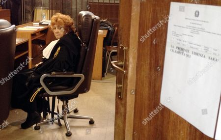 Prosecutor Ilda Boccassini During the Trial Against Italian Former Prime Minister Silvio Berlusconi Accused of Paying Moroccan Nightclub Dancer Karima El Mahroug Also Known by the Stage Name Ruby Rubacuori For Sexual Services at a Court in Milan Italy 10 December 2012 Italy Milan