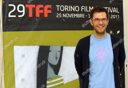 Director Peter Huyck Poses at the 29th Turin Film Festival (tff) in Turin Italy 27 November 2011 He Presented His Movie 'A Good Old Fashioned Orgy' at the Festival Which Runs Until 03 December Italy Turin