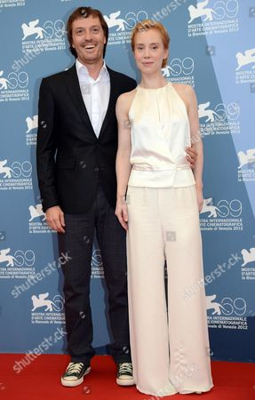 German Actress Franziska Petri (l) and Macedonian Actor Dejan Lilic (r) Pose at a Photocall For the Movie 'Izmena' (betrayal) During the 69th Venice International Film Festival in Venice Italy 30 August 2012 the Movie is Presented in the Official Competition 'Venezia 69' at the Festival Which Runs From 29 August to 08 September Italy Venice