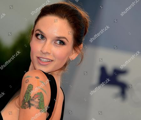 Us Writer Hallie Elizabeth Newton Arrives For the Premiere of 'At Any Price' During the 69th Venice International Film Festival in Venice Italy 31 August 2012 the Movie is Presented in the Official Competition 'Venezia 69' of the Festival Which Runs From 29 August to 08 September Italy Venice