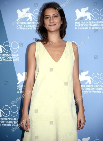 French Actress Lola Creton Poses at a Photocall For 'Apres Mai (something in the Air)' During the 69th Venice International Film Festival in Venice Italy 03 September 2012 the Movie is Presented in the Official Competition of the Festival Which Runs From 29 August to 08 September Italy Venice