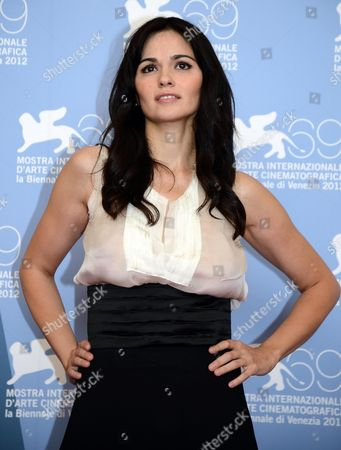 Italian Actress Romina Mondello Poses During a Photocall For the Movie 'To the Wonder' During the 69th Venice International Film Festival in Venice Italy 02 September 2012 the Movie is Presented in Competition at the Festival Which Runs From 29 August to 08 September Italy Venice