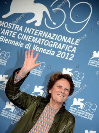 Italian Director Liliana Cavani Poses During a Photocall For 'Clarisse' During the 69th Venice International Film Festival in Venice Italy 01 September 2012 the Movie is Presented out of Competition at the Festival Which Runs From 29 August to 08 September Italy Venice