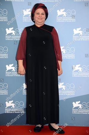 Israeli Director Rama Burshtein Poses During a Photocall For the Movie 'Fill the Void (lemale Et Ha' Chalal)' During the 69th Venice International Film Festival in Venice Italy 02 September 2012 the Movie is Presented in Competition at the Festival Which Runs From 29 August to 08 September Italy Venice