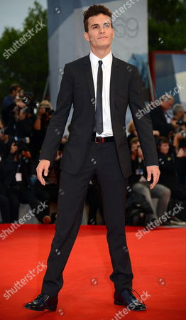 Stock Image of Italian Actor/cast Member Brenno Placido Arrives For the Premiere of 'Bella Addormentata' During the 69th Venice International Film Festival in Venice Italy 05 September 2012 the Movie is Presented in the Official Competition of the Festival Which Runs From 29 August to 08 September Italy Venice