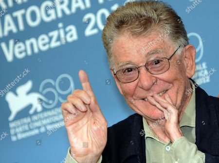 Italian Director and Producer Ermanno Olmi Poses During a Photocall For the Film 'The Tightrope' During the 69th Venice International Film Festival in Venice Italy 05 September 2012 the Movie is Presented out of Competition at the Festival Which Runs From 29 August to 08 September Italy Venice