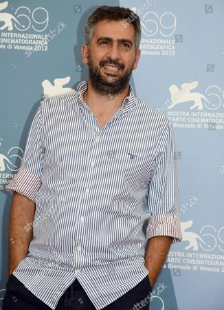 Italian Director Salvatore Mereu Poses at the Photocall For 'Bellas Mariposas' During the 69th Venice International Film Festival in Venice Italy 06 September 2012 the Movie is Presented in the Orizzonti Section of the Festival Which Runs From 29 August to 08 September Italy Venice