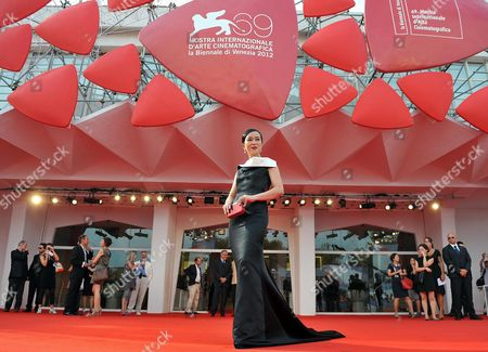 Actress/cast Member Cho Min-soo Arrives For the Premiere of 'Pieta' During the 69th Venice International Film Festival in Venice Italy 04 September 2012 the Movie is Presented in the Official Competition of the Festival Which Runs From 29 August to 08 September Italy Venice