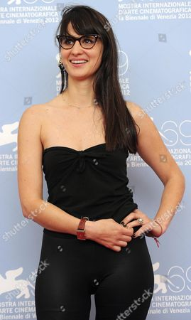 Argentinian Director Jazmin Lopez Poses at a Photocall For Her Movie 'Leones' During the 69th Venice International Film Festival in Venice Italy 03 September 2012 the Movie is Presented in the Orizzonti Section of the Festival Which Runs From 29 August to 08 September Italy Venice